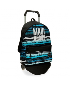 Maui and Sons Mochila con carro Maui Waves Multicolor - 1