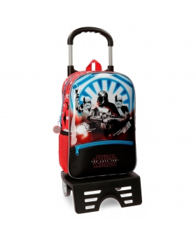 Star Wars Mochila preescolar  The Last Jedi  con carro Multicolor - 1