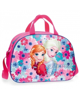 Frozen Bolsa de viaje  Flowers Frontal 3D Multicolor - 1