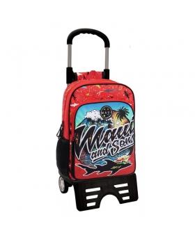 Maui and Sons Mochila con carro Maui Beach Rojo - 1