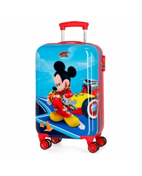 Mickey Mouse Maleta de cabina rígida Lets Roll Mickey Multicolor - 1