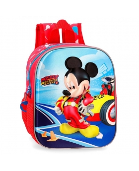 Mickey Mouse Mochila guardería Lets Roll Mickey Multicolor - 1