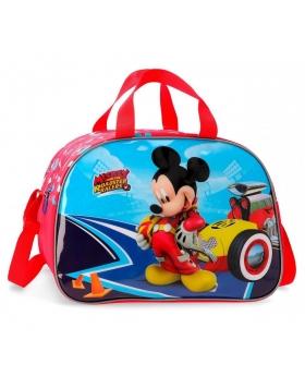 Bolsa de viaje   Lets Roll Mickey Mickey Mouse Multicolor 40cm | Maletia.com