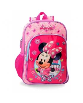 Minnie Mouse Mochila  adaptable a carro Minnie Super Helpers Rosa - 1