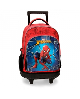Spider-Man Mochila 2 ruedas Spiderman Black Multicolor - 1