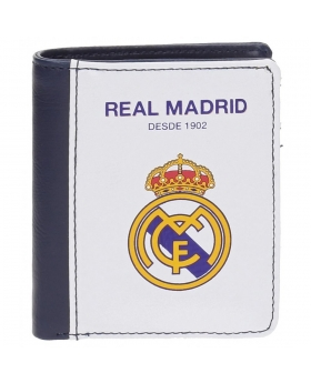 Real Madrid Billetero  White Vertical Blanco - 1