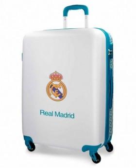 Real Madrid Leyenda Maleta mediana Azul Pacífico 0