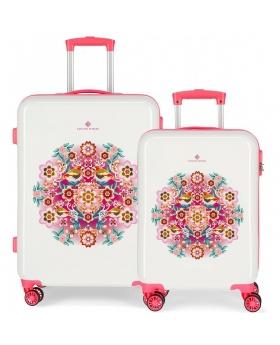 Catalina Estrada Juego de maletas rígidas 55- Catalina Nature Multicolor - 1