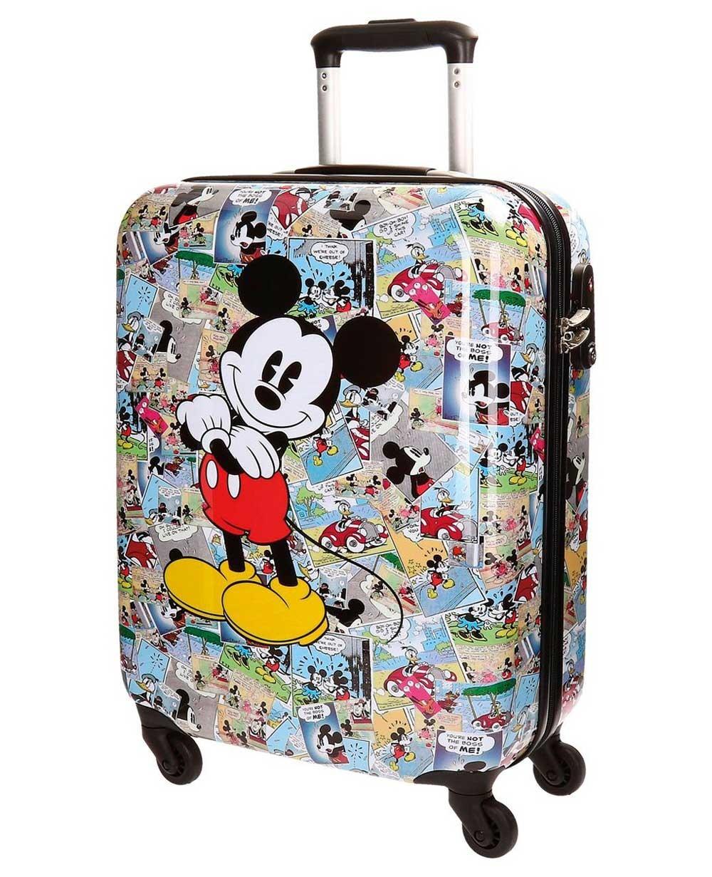 Disney Mickey Comic Maleta de mano Blanca 0