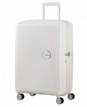 American Tourister Soundbox Maleta mediana Blanca 0