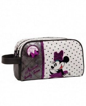 Neceser Disney Minnie Bows Blanco - 26cm | Maletia.com