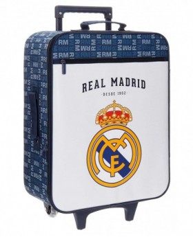 Real Madrid Basic Maleta de mano Blanca 0