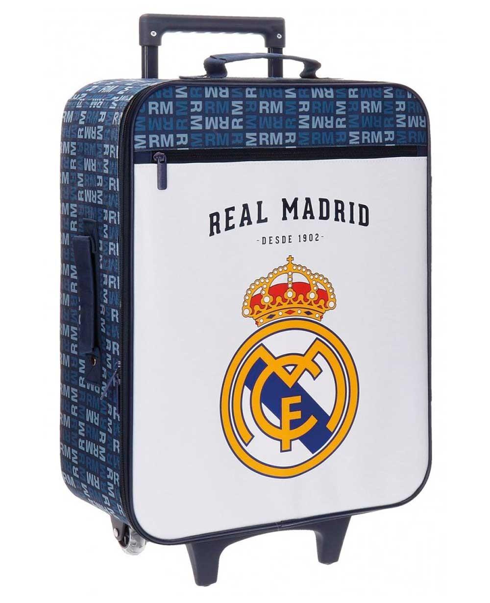 Real Madrid Basic Maleta de mano Blanca (Foto )