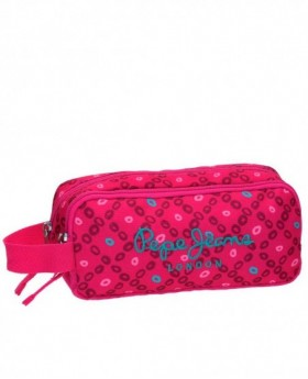 Pepe Jeans Topos Print Neceser Rosa