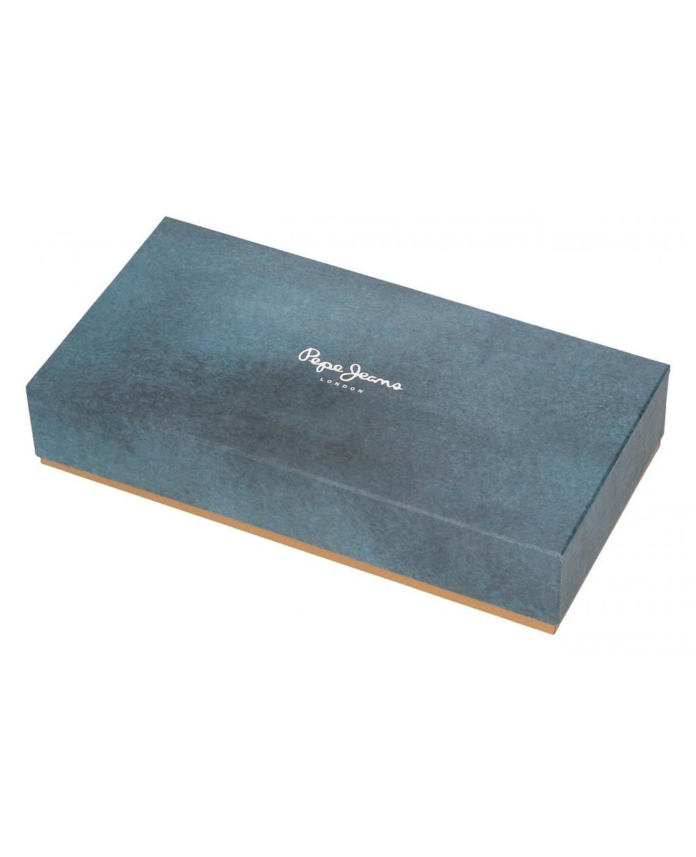 ea368077c Cartera Double Coral Pepe Jeans Naranja 20cm | Maletia.com