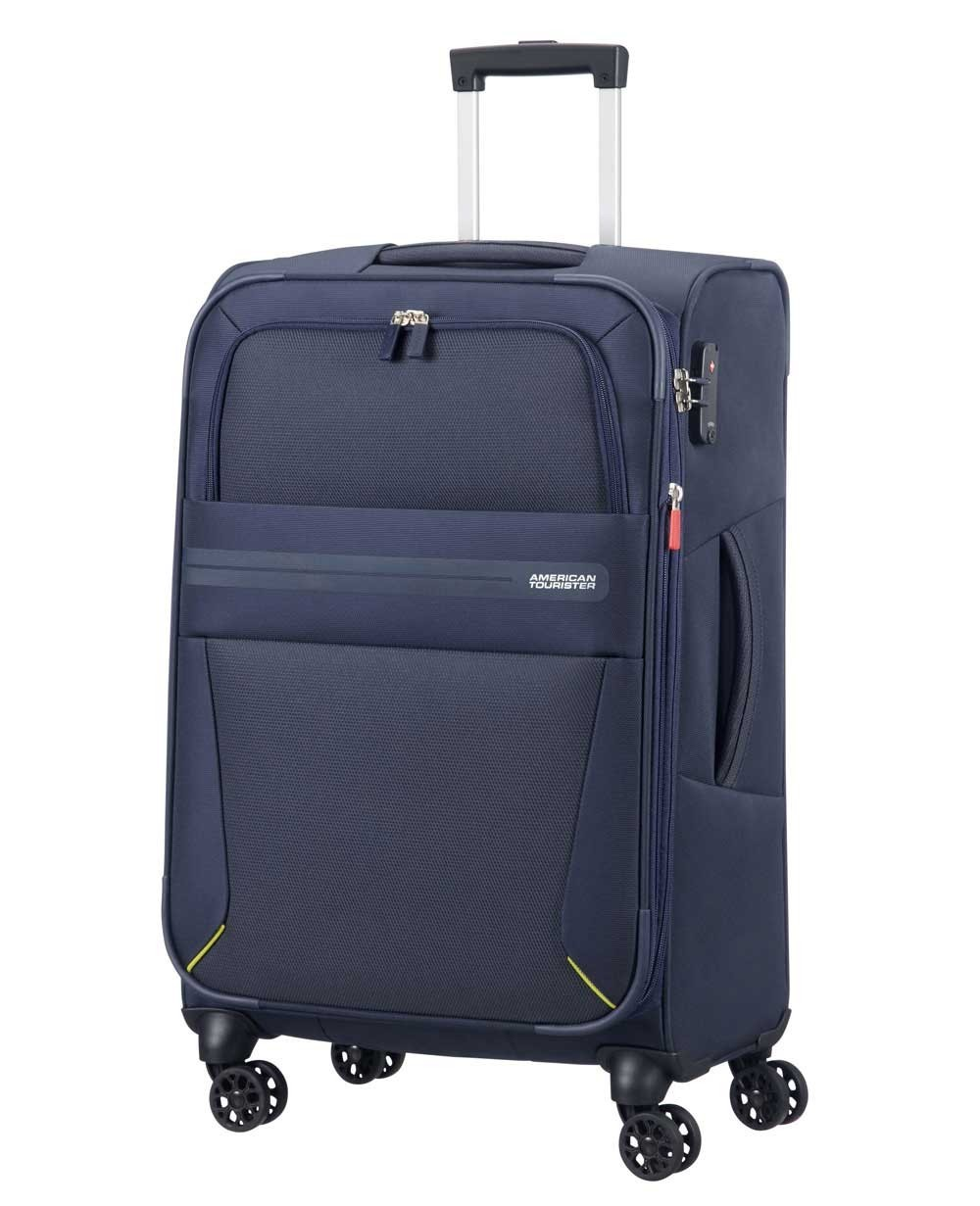 American Tourister Summer Voyager Maleta mediana Azul (Foto )