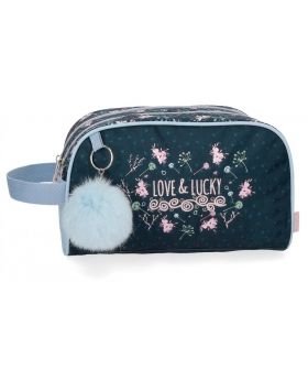 Enso Neceser  Love and Lucky doble compartimento Multicolor - 1