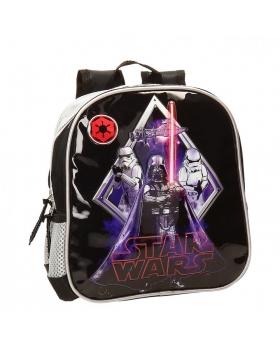 Star Wars Mochila Preescolar Darth Vader Negro - 1