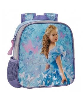 Princesas Mochila preescolar Cinderella azul Multicolor - 1