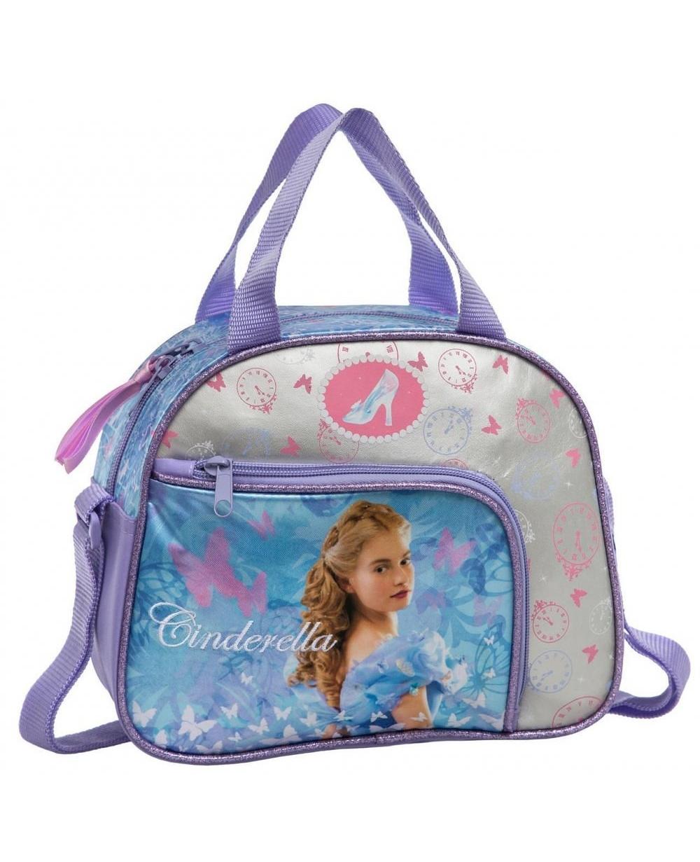 66f43425b Neceser bandolera adaptable Cinderella azul Princesas Multicolor ...