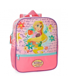 Princesas Mochila Preescolar Rapunzel  Multicolor - 1