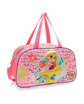 Princesas Bolsa de viaje Rapunzel  frontal 3D Multicolor - 1