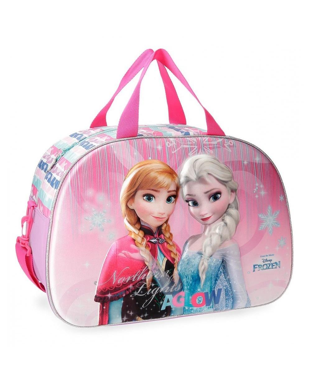 Frozen Bolsa de viaje  Fantasy frontal 3D Rosa (Foto )