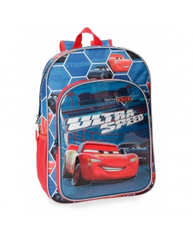 Cars Mochila  Ultra Speed  adaptable a carro Multicolor - 1