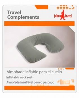 Almohadilla Inflable John Travel Gris | Maletia.com