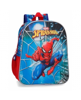 Spider-Man Mochila  frontal 3D adaptable a carro Spiderman Street Multicolor - 1