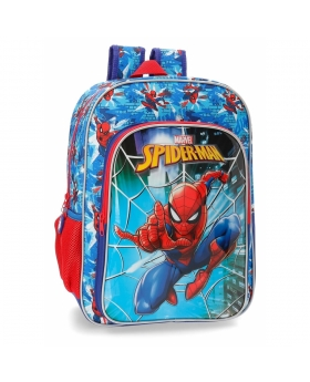Spider-Man Mochila 40 cm adaptable a carro Spiderman Street Multicolor - 1