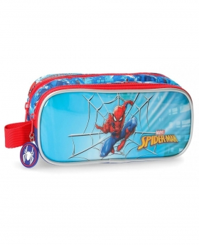 Spider-Man Estuche doble compartimento Spiderman Street Multicolor - 1