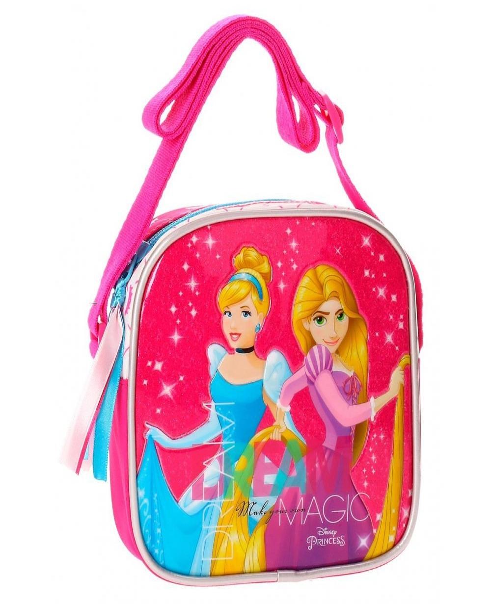 6c947d154 Bandolera Disney Princesas Rosa 15cm | Maletia.com