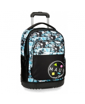 Maui and Sons Mochila con ruedas Maui Shark 2R Multicolor - 1