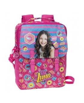 Soy Luna Mochila portaordenador Yo soy Luna Rosa - 1