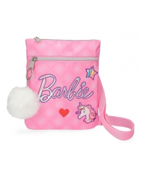 Barbie Bandolera bolsillo frontal  Rosa - 1
