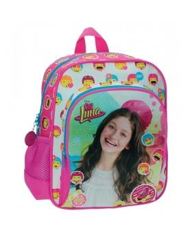 Soy Luna Mochila bolsillo frontal Luna Icons Rosa - 1