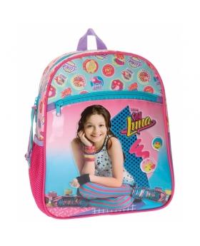 Soy Luna Mochila preescolar adaptable a carro  Multicolor - 1