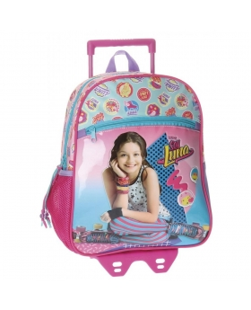 Soy Luna Mochila preescolar  Pop con carro Multicolor - 1
