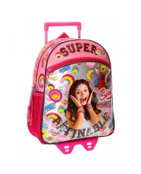Soy Luna Mochila preescolar con carro  Smile Multicolor - 1