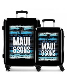 Maui and Sons Juego de maletas rígidas 55- Maui Waves Multicolor - 1