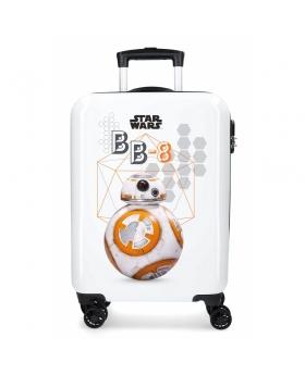 Star Wars Maleta de cabina rígida  Troopers BB8 Blanco - 1