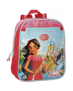 Elena de Avalor Mochila preescolar adaptable a carro  Multicolor - 1