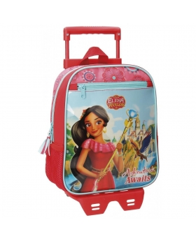 Elena de Avalor Mochila preescolar con carro  Adventure Multicolor - 1