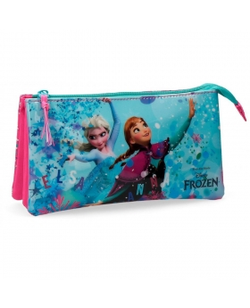 Frozen Estuche  Star tres compartimentos Multicolor - 1