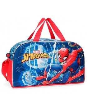 Spider-Man Bolsa de viaje Spiderman Neo  frontal 3D Multicolor - 1