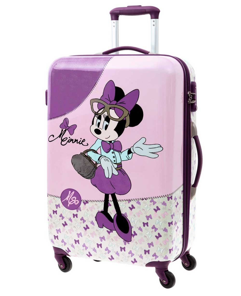 Disney Minnie Glam Maleta mediana Lila (Foto )
