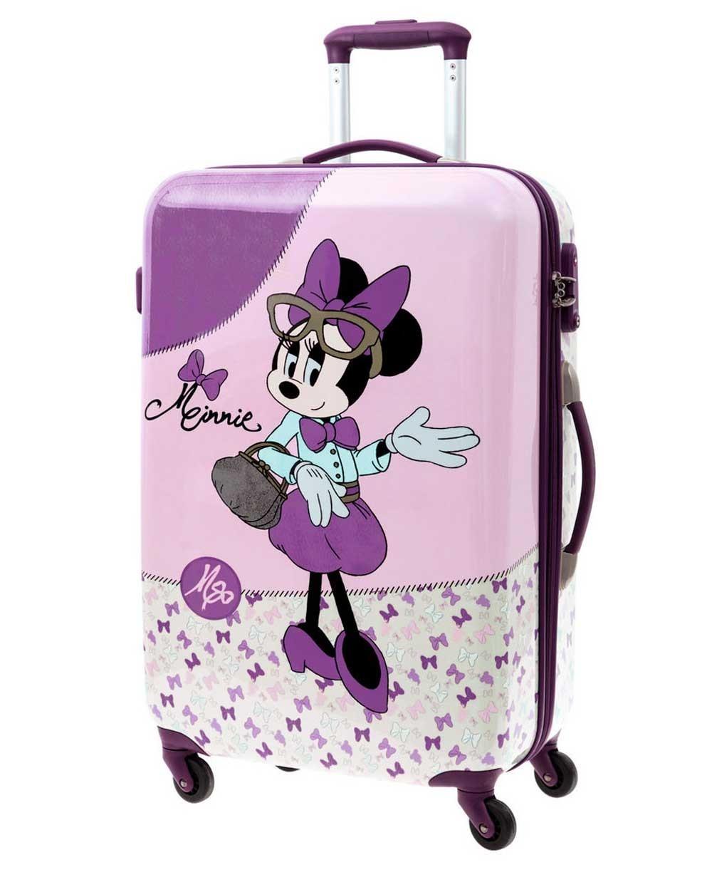 Disney Minnie Glam Maleta de mano Lila (Foto )