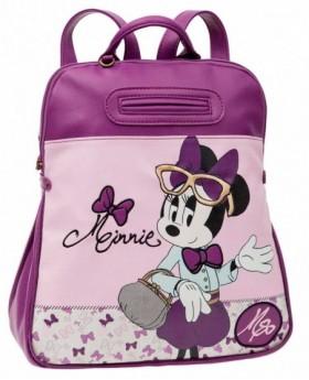 Disney Minnie Glam Mochila de día Lila