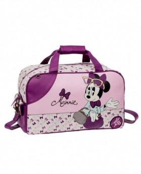 Disney Minnie Glam Bolsa de Viaje Lila